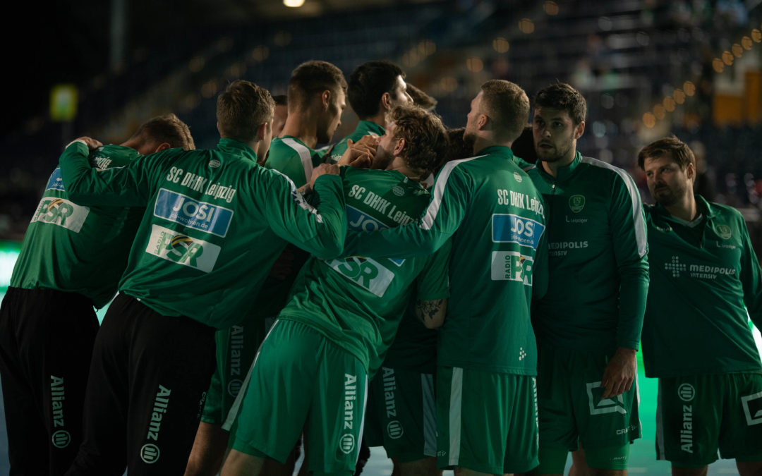 SC DHfK Leipzig gegen Göppingen vor 999 Zuschauern