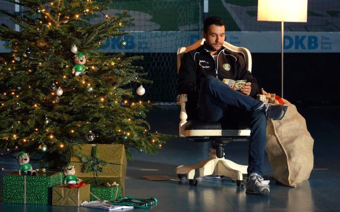 DHfK-Handballer wünschen allen Fans, Eltern und Kindern einen frohen 2. Advent und einen fleißigen Nikolaus