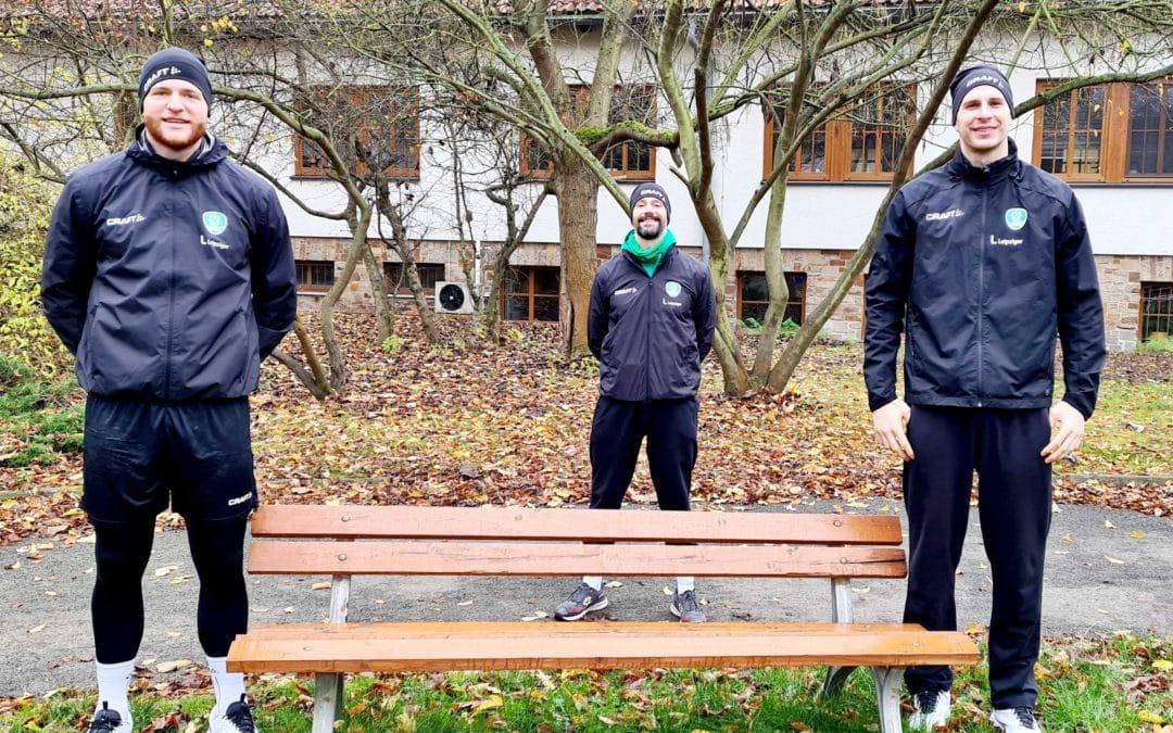 Fitnesskurs und Adventsgeschichten: DHfK-Handballer bleiben kreativ