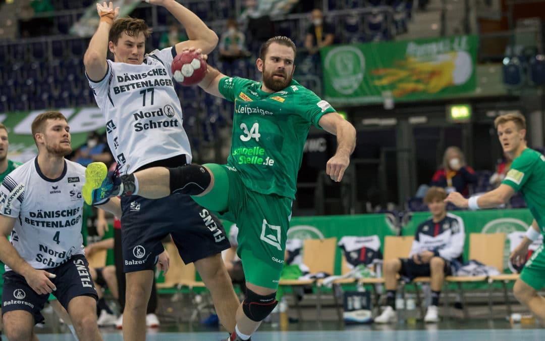 Keine Überraschung in Leipzig: Flensburg nimmt zwei Punkt mit nach Hause
