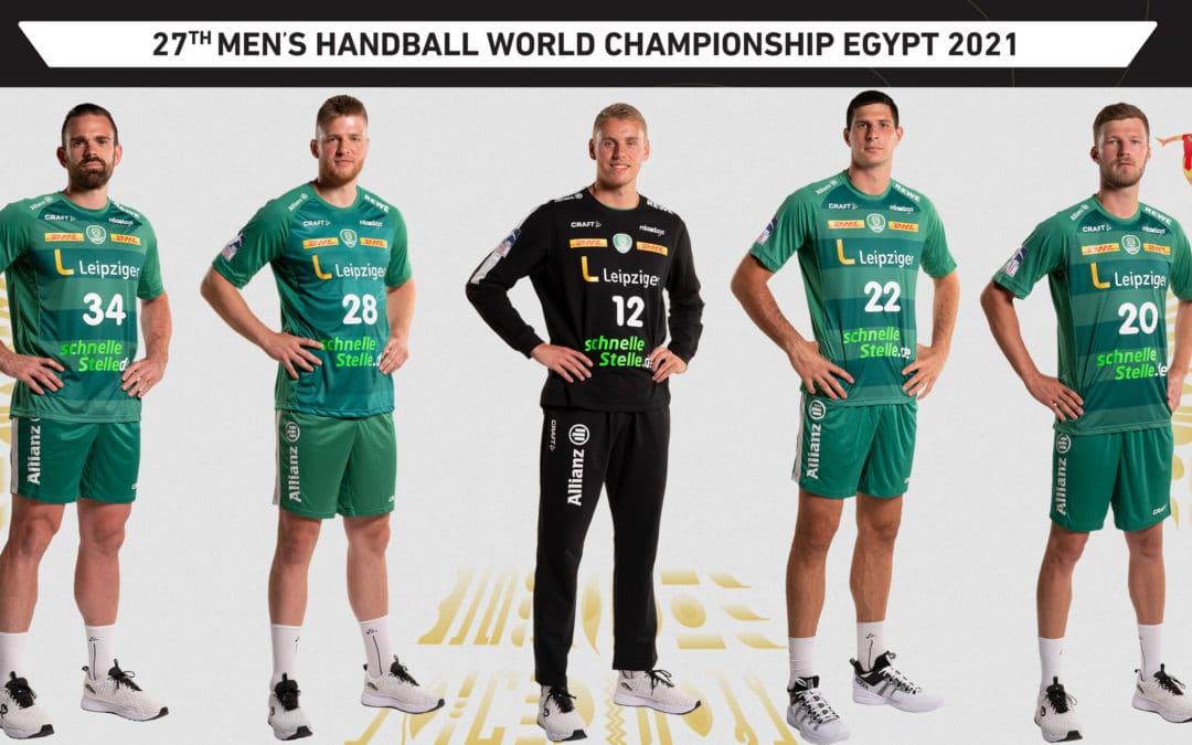 Alle fünf WM-Teilnehmer des SC DHfK Leipzig stehen in der Hauptrunde der Weltmeisterschaft