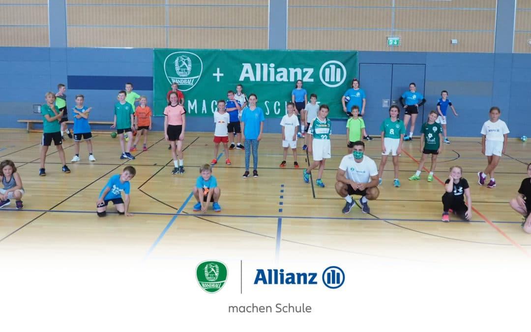 Allianz Deutschland und SC DHfK Leipzig verlängern ihre Partnerschaft