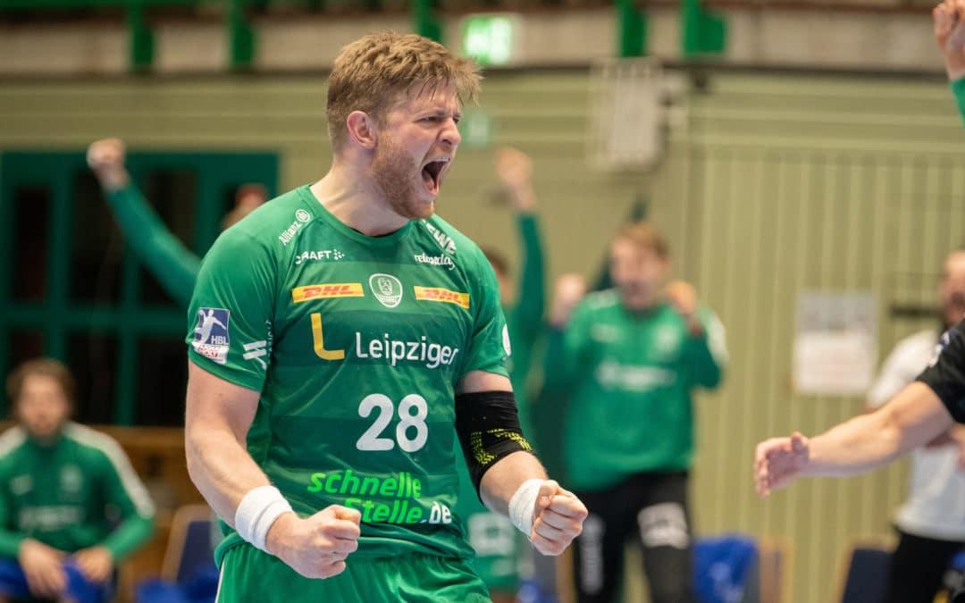 Perfekter Start ins neue Handballjahr! Leipzig blockt sich zum Auswärtssieg!