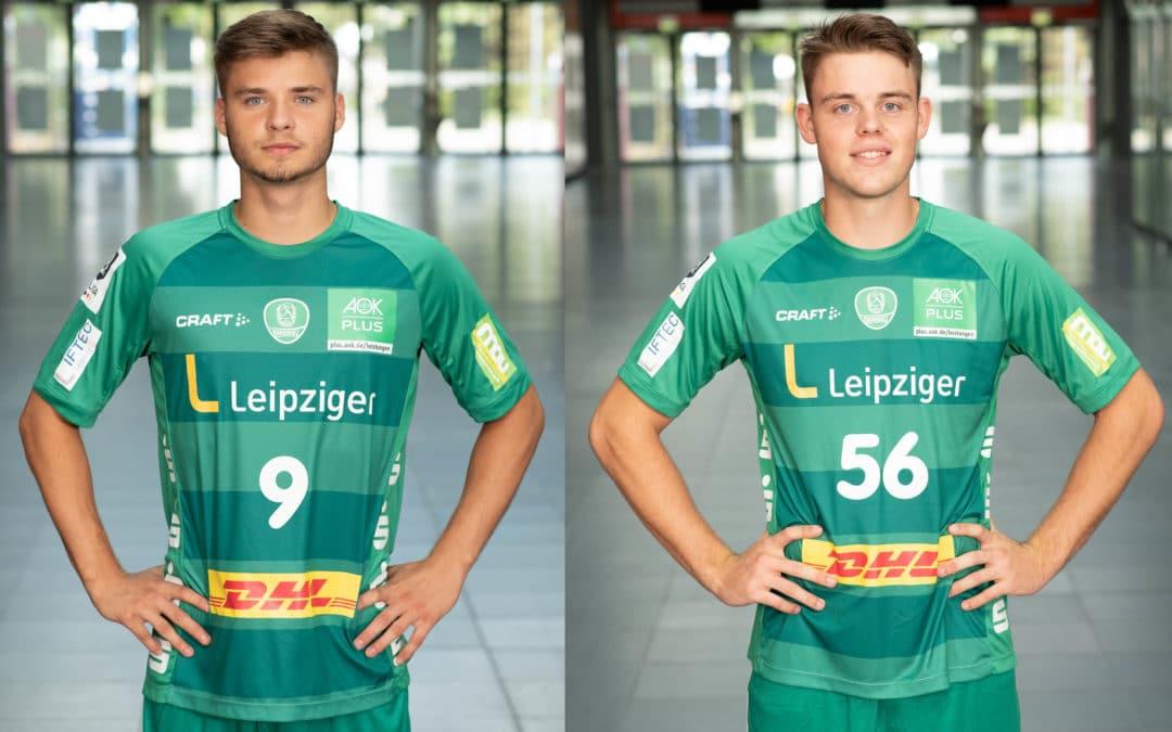 DHfK-Talente Joshua Saleh und Nicolas Neumann erhalten Zweitspielrecht für Dessau