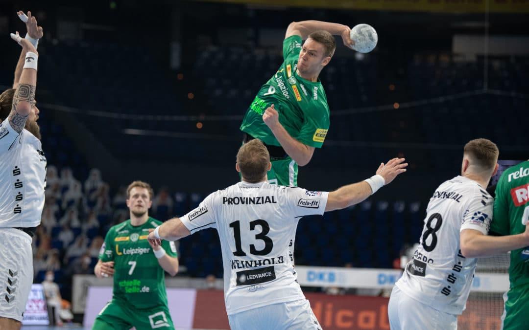 Trotz hoher Niederlage: Jüngster Rückraum der Liga schlägt sich achtbar in Kiel