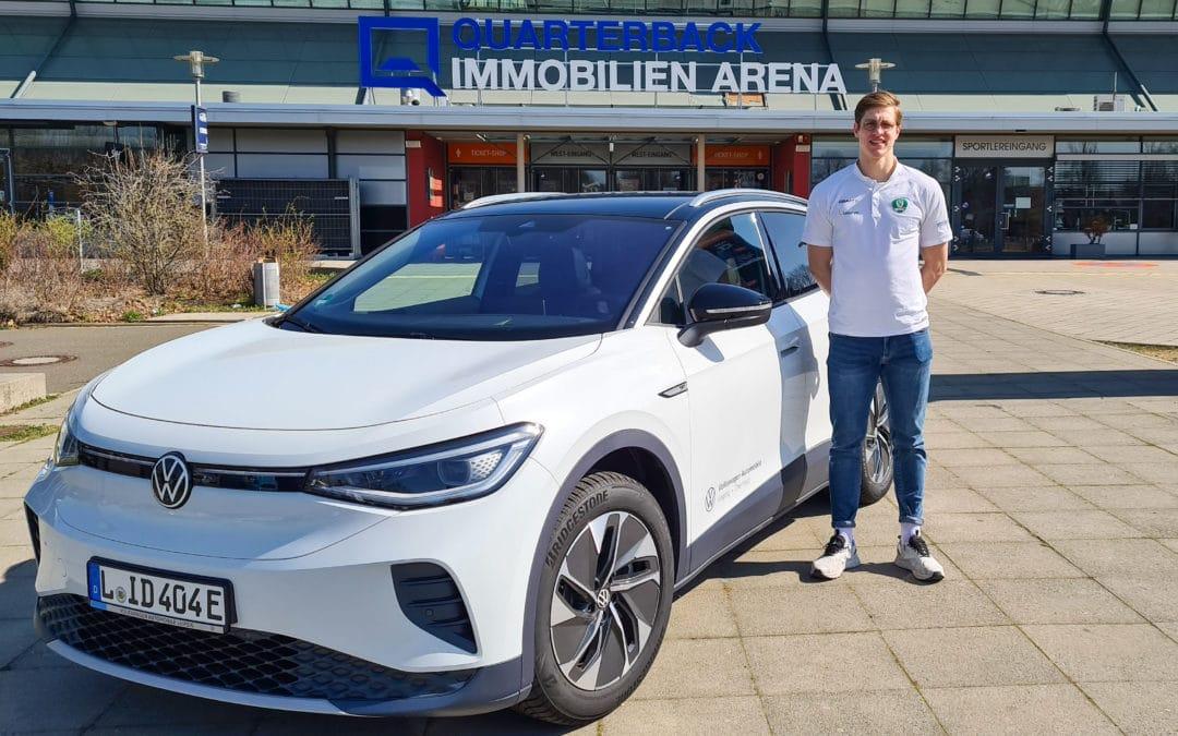 Volkswagen Automobile Leipzig präsentiert das Heimspiel am Donnerstag gegen Balingen