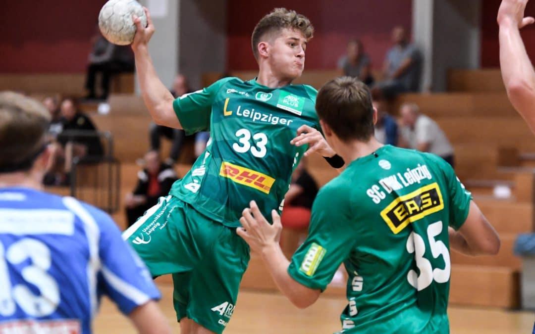 Endlich wieder Wettkämpfe für die A- und B-Jugend des SC DHfK Leipzig