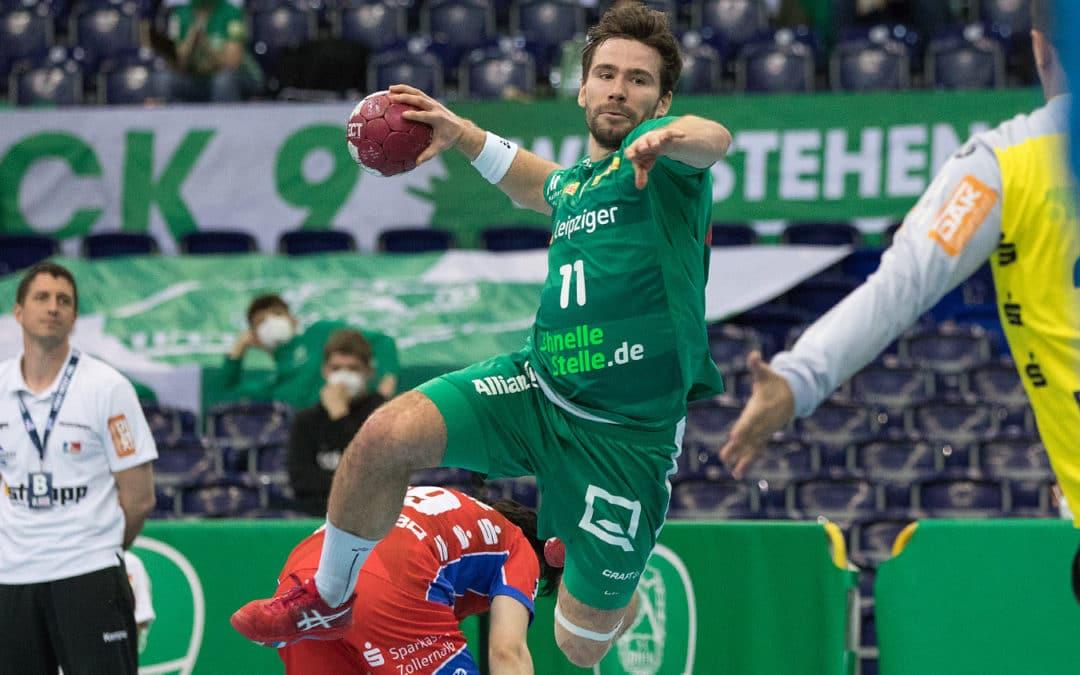 """Leipzig gewinnt """"Muss-Spiel"""" gegen Balingen"""