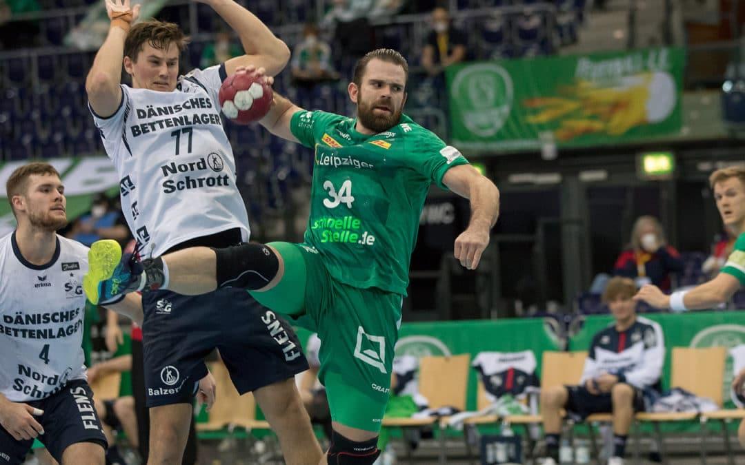 Topspiel in Flensburg: SC DHfK will es dem Tabellenführer schwer machen