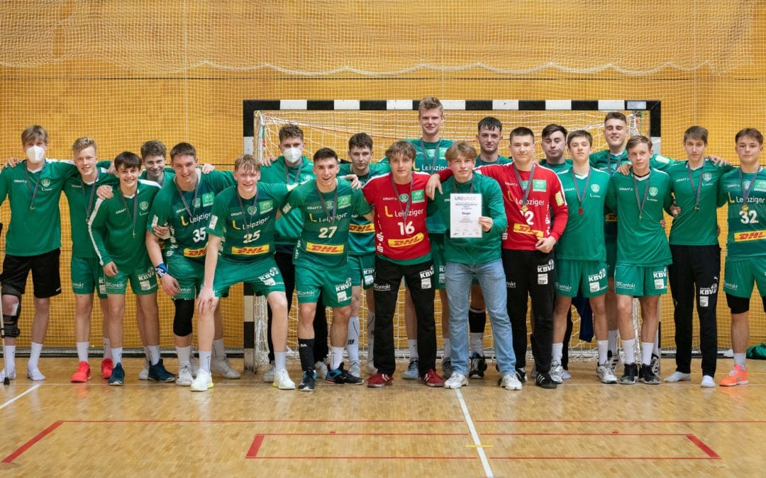 U17 des SC DHfK Leipzig ist Mitteldeutscher Meister!