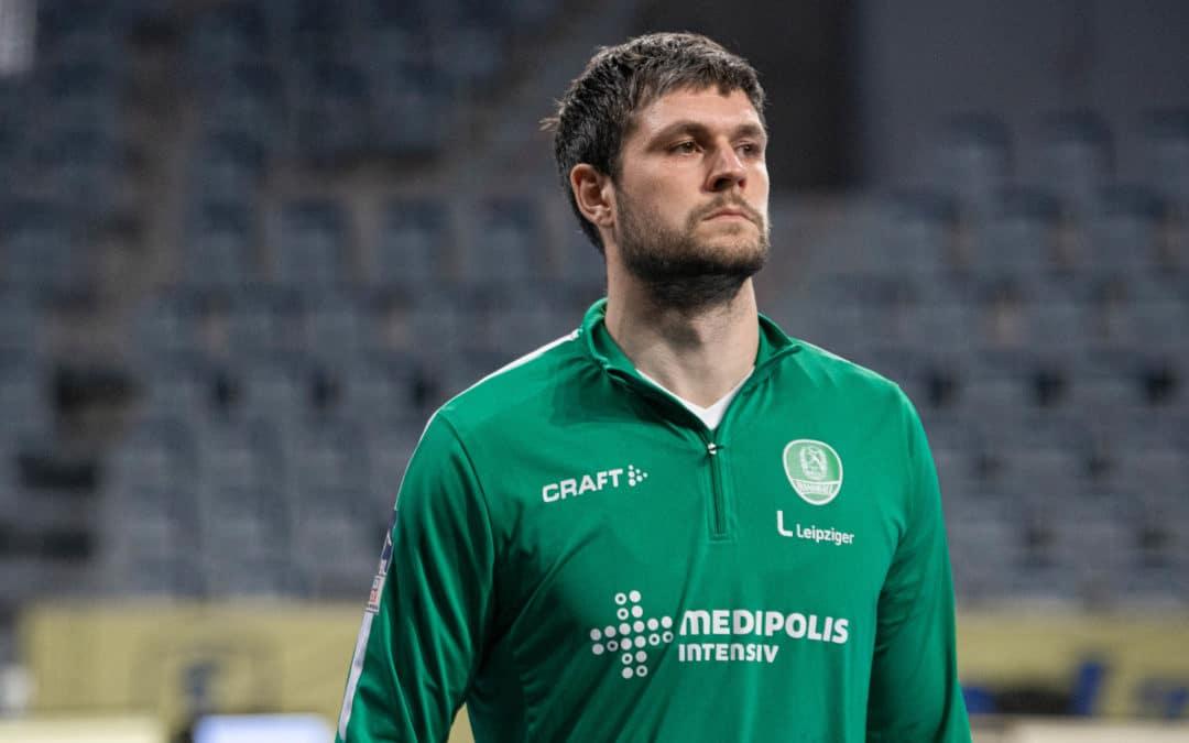 Martin Larsen verlässt den SC DHfK Leipzig zum Saisonende