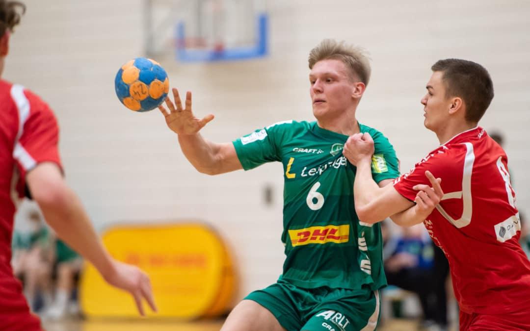 DHfK-U19 mit souveränem Auftaktsieg gegen Potsdam