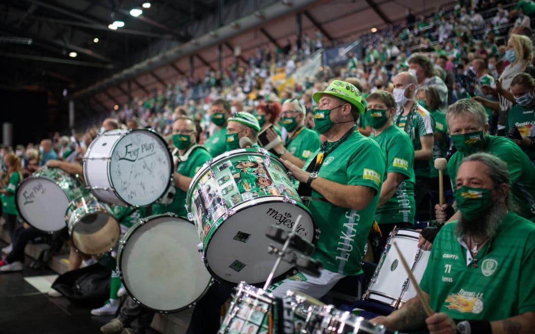 Grünes Licht für Modellprojekt – SC DHfK Leipzig gegen THW Kiel findet vor Zuschauern statt!