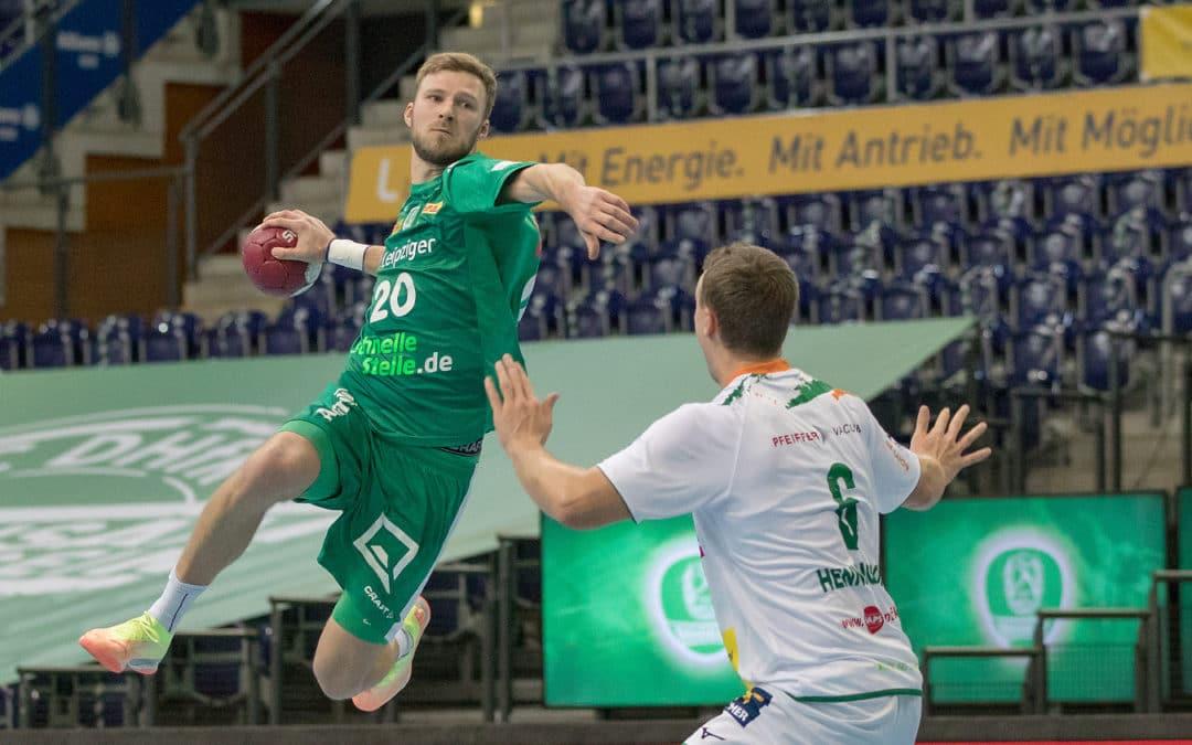 Leipziger Handballer am Samstagabend in Wetzlar gefordert