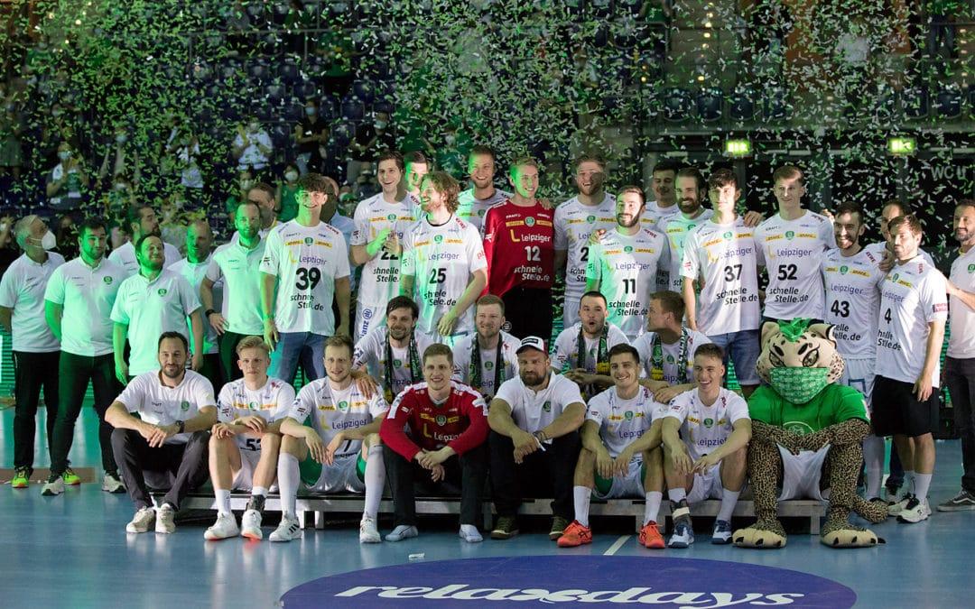 Leipzig feiert seine Hanbdallhelden: SC DHfK gewinnt letztes Heimspiel…