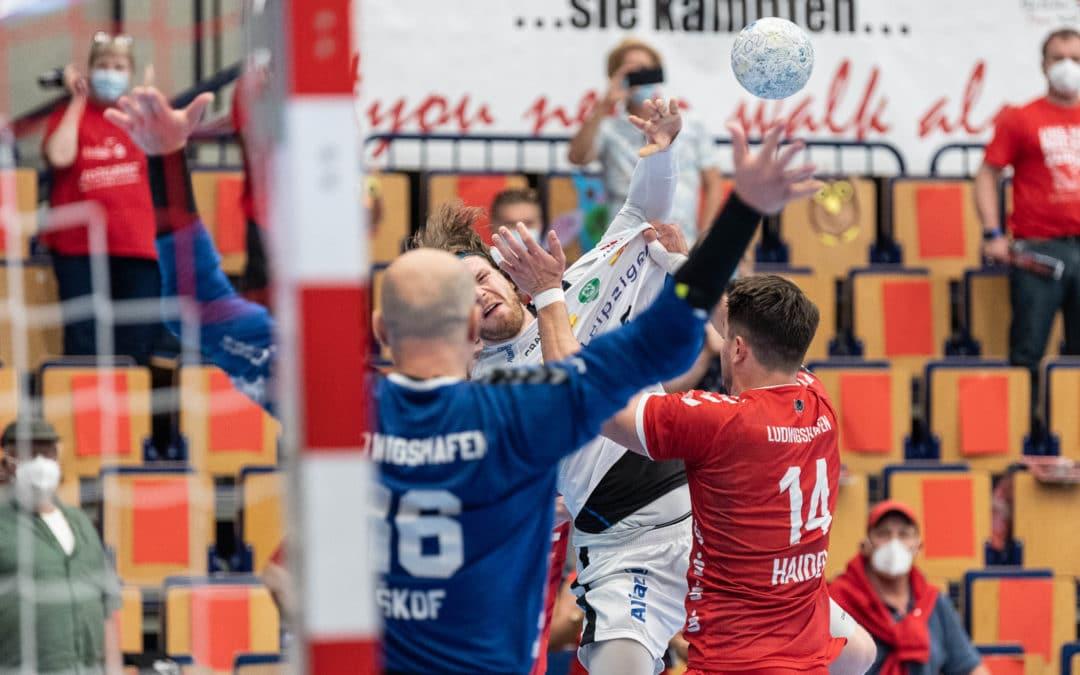 Der SC DHfK Leipzig trennt sich mit einem Unentschieden von den Eulen