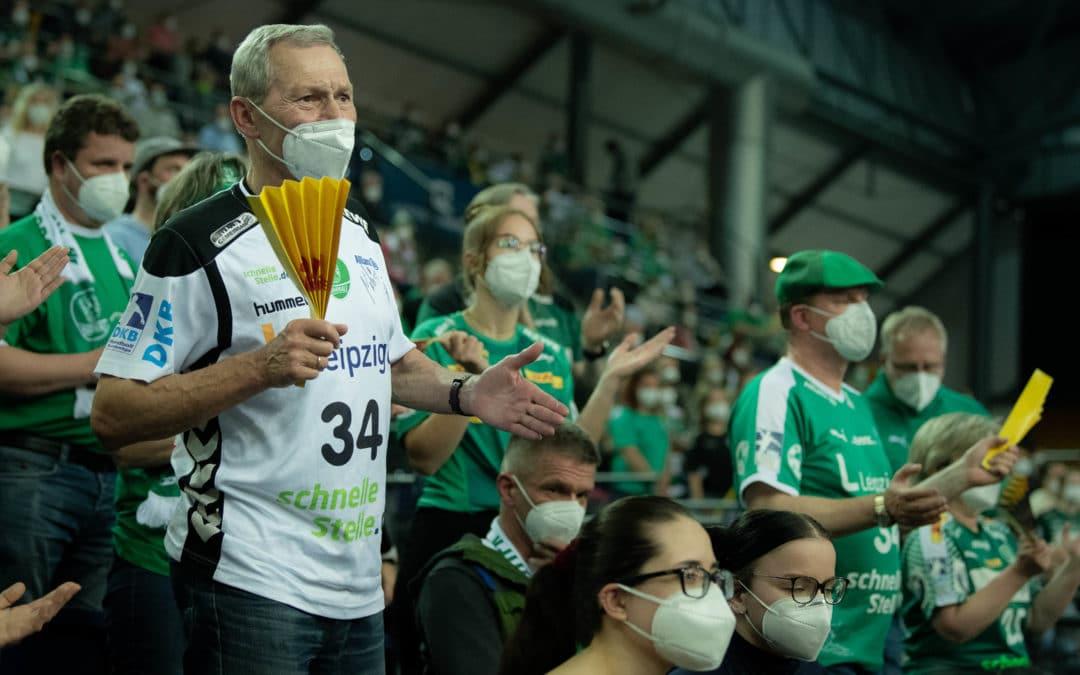 DHfK-Handballer empfangen Minden vor bis zu 1.250 Fans