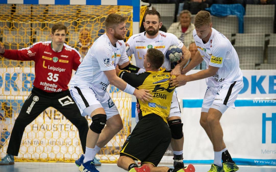 Vorletztes Heimspiel der Saison: SC DHfK empfängt Coburg