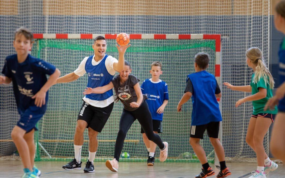 Erstes Allianz Handballcamp der neuen Saison
