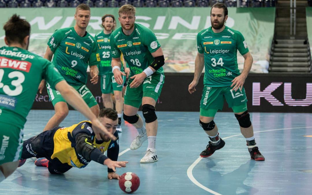 Heimspiel im DHB-Pokal: SC DHfK trifft auf die Rhein-Neckar Löwen