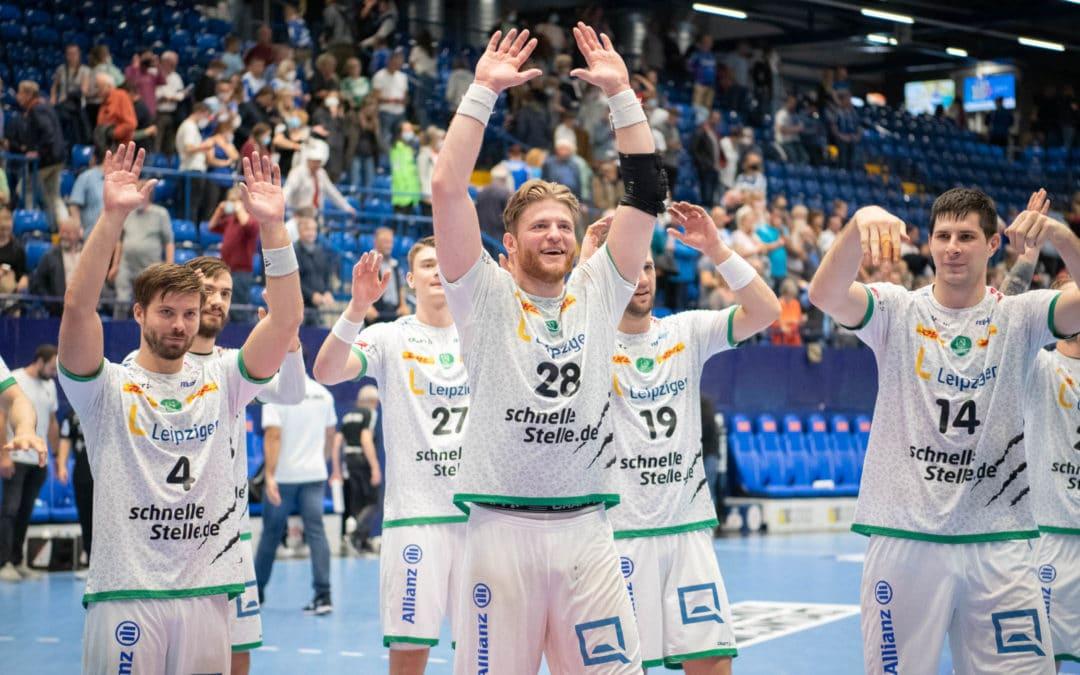 Leipzig zwingt Lemgo in die Knie und holt 1. Saisonsieg!
