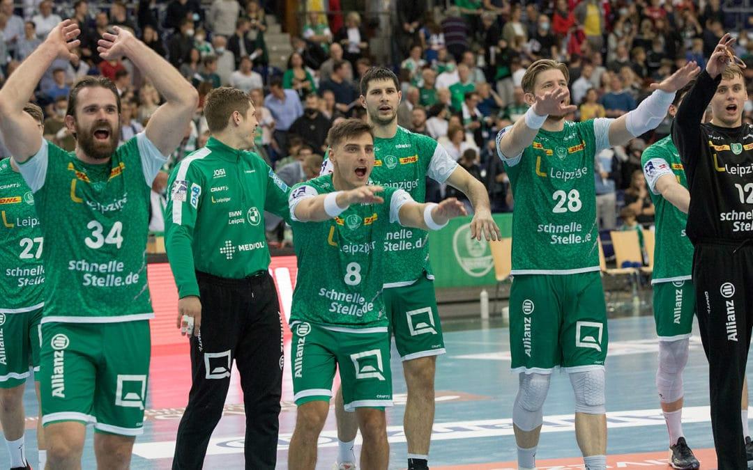 DHfK-Handballer zeigen Krallen und holen den ersten Heimsieg der Saison